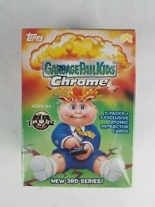 2020 Garbage Pail Kids Chrome 3rd Series Blaster Box (SEALED) ShIps Quickly