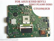 For ASUS K53SD MAIN BOARD REV 5.1 Intel Motherboard 60-N3EMB1200-D25 100% tested