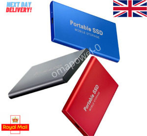 SSD Portable Mobile External Solid State Hard Drive 1TB Type3.1 USB Memory Stick