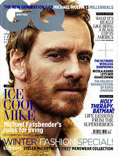 GQ UK December 2016 MICHAEL FASSBENDER Elsa Hosk DANE DeHAAN Jenson Button @NEW@