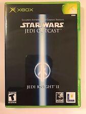 Star Wars Jedi Outcast Jedi Knight II - Xbox - Replacement Case - No Game