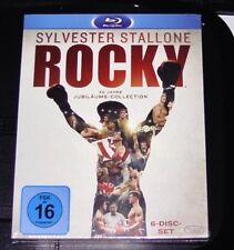 Rocky 40 Años Colección Sylvester Stallone BLU-RAY NUEVO Y EMB. orig.