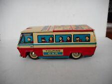 Vintage tin toys touring car coach China 550 MF 134 GOOD CONDITION