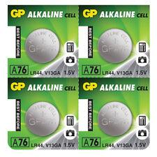 4 X Batería LR44 AG13 A76 V13GA 1.5 V 1.5 V Alcalino mejor antes de 2020