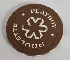 New listing Vtg Playboy Casino Chip Playboy Roulette Chocolate-Brown