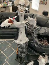 "Hanging Grumpy Zombie Halloween Decoration 36"" New!!!"