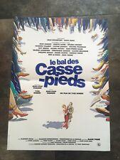 affiche cinema Le Bal Des Casse Pieds