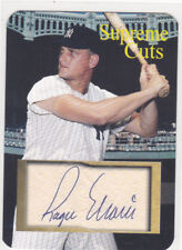 "ROGER MARIS SUPREME CUTS DIE CUT FACSIMILE Auto EMBOSSED  ""SAMPLE"" YANKEES"