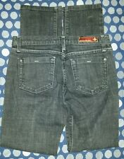 Flying Monkey Low Rise Straight Leg Women's Jeans Size 7 Black Free Shipping
