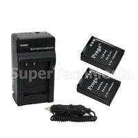 2 (Two) Battery & Charger Combo Kit for Nikon EN-EL12 Coolpix S9300 S9100 S8200