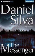 THE MESSENGER unabridged audio book on CD by DANIEL SILVA
