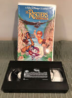 Disney The Rescuers Down Under (VHS,1991) Black Diamond Edition 1142-1