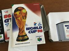 World Cup 98 Football Soccer N64 Nintendo Famicom Boxed Cartridge Retro