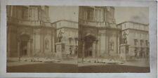 Messina Soprammobile Sicilia Italia Foto Eugene Sevaistre Stereo Albumina c1860