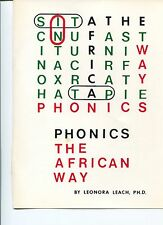 Phonics the African Way by Leonora Leach (1993, Softcover)