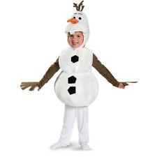 Size 2t Disney Frozen Olaf Snowman Deluxe Halloween Costume Disguise
