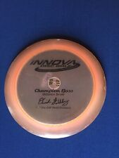 Rare Pfn Innova Dave Feldberg Champion Boss Patent #'s