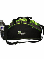PICKLEBALL MARKETPLACE Small Contrast Duffle- Lime - Embroidered-Carry Paddles