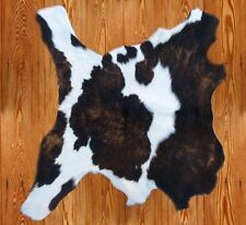 Western Cabin Lodge Decor Calfskin Cowhide Throw Rug/Wall Hanging