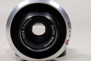 Durst Neonon 50mm f2.8 Enlarging lens in Durst Recessed Board