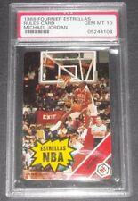 Michael Jordan Bulls HoF 1988 Fournier Estrellas Rules Card PSA 10 QUANTITY