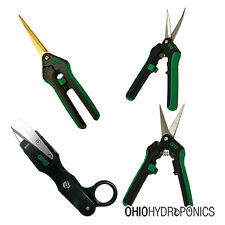 Gro1 Pruning Trimming Scissors Pruners Trimmer Packages 4 pack harvest bud