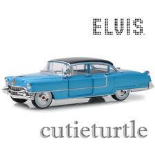 Greenlight 1955 Cadillac Fleetwood Series 60 1:24 Elvis Presley Blue 84093