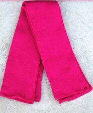 2 pr Fuchsia  Fine gauge Leg Warmers Made USA soft & warm FREE S/H  on Sale!