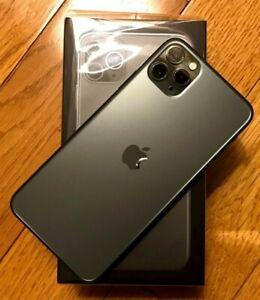 MINT!! Apple iPhone 11 Pro Max - 256GB - Mid Green (Unlocked) A2161 (CDMA, GSM)
