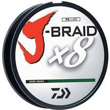 Daiwa J-Braid 20LB Test - 6LB Diameter - 330 Yards - Dark Green JBU20-300DG