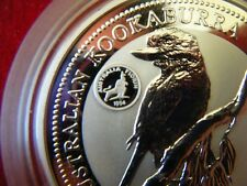 1995 2oz Silver Specimen Kookaburra Coin, Royal Visit Florin Privy Mark