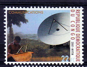 Congo 2000 MNH, Millennium, Communication, Old and New