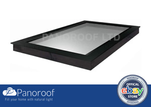 500x1200 ROOFLIGHT/SKYLIGHT TRIPLE GLAZED CLEAR SELF CLEANING GLASS BY PANOROOF