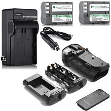 MB-D10 Battery Grip for Nikon D300S D300 D700 D900 + 2x EN-EL3E Battery + Remote