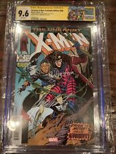 Uncanny X-Men 266 *FACSIMILE* CGC 9.6 Signed & Sketched Rubenstein & Claremont