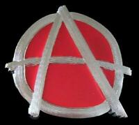 Anarchy A Punk Anarchists Symbols Signs Belt Buckle Buckles