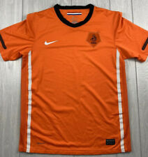 NIKE Dri Fit Netherlands Holland KNVB Orange Soccer Football Jersey Youth XL