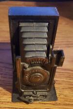 Vintage Folding Camera Pencil Sharpener Die-Cast Metal