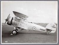 HAWKER HART JUPITER ENGINE K3020 VINTAGE PHOTO RAF ROYAL AIR FORCE