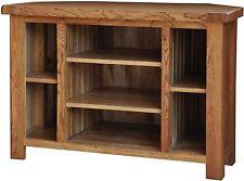 Grasmere solid oak furniture corner television cabinet stand unit