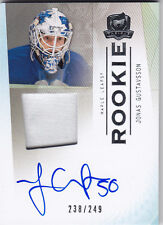 2009-10 UD THE CUP JONAS GUSTAVSSON RC AUTO PATCH /249 #122 09-10