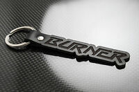Raleigh BURNER Leather Keyring Schlüsselring Porte-clés BMX Tuff Pro Super Aero