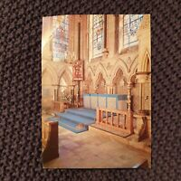 Lincoln Cathedral, Chapel of St. Michael - Vintage Postcard