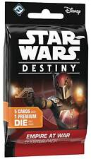 FACTORY SEALED! STAR WARS DESTINY EMPIRE AT WAR BOOSTER PACK (1ct)