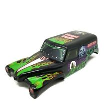 """Spin Master Monster Jam Large Grave Digger RC Body 11.5"""" Long with hardware"""