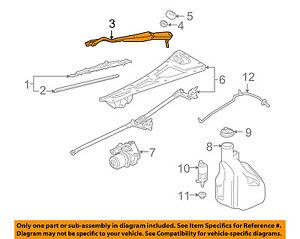 Chevrolet GM OEM 2006 SSR-Window Windshield Wiper Arm 15828974