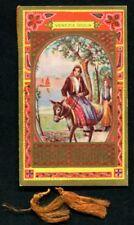 CALENDARIETTO 1930 COSTUMI REGIONALI - VENEZIA G. TRIPOLITANIA TRENTINO ERITREA