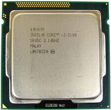 Intel Core i3-2100 SR05C 3.1GHz Socket LGA1155 Desktop CPU *Free S/H.