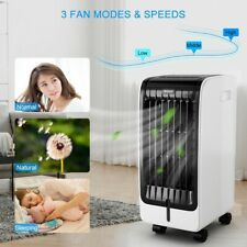 Evaporative Portable Air Conditioner Cooler Fan 3 Mode Speed with Remote Control