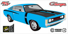 New! Collectable Chrysler VH Valiant Charger R/T - LIGHT BLUE